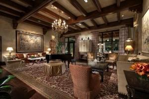 Spanish Villa - Living room