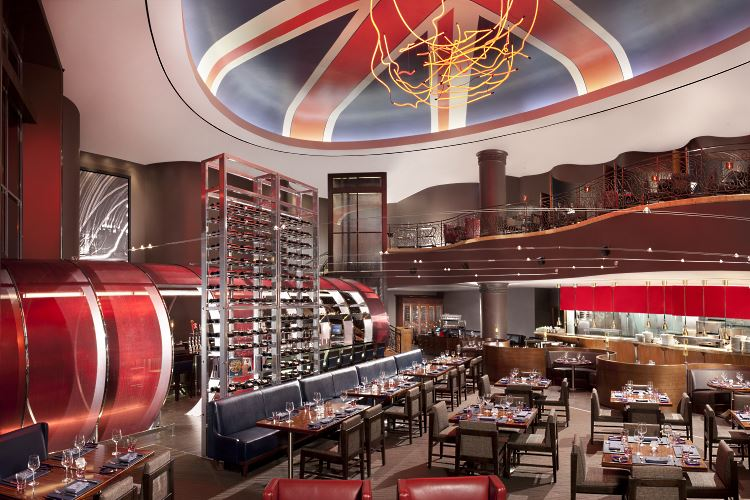 Gordon Ramsay Steak restaurant Paris Las Vegas