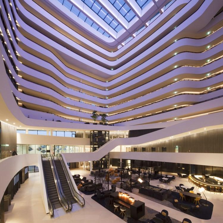 Hilton Amsterdam Aéroport de Schiphol - Atrium