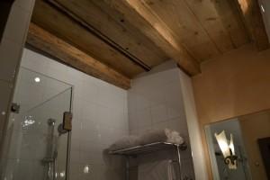 Wooden celiling