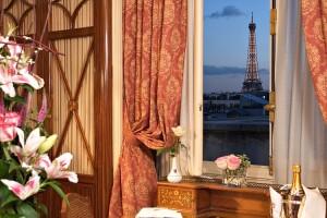 Hotel Raphael Paris suite tour eiffel