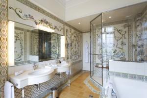 Hotel Raphael Suite d'état salle de bain