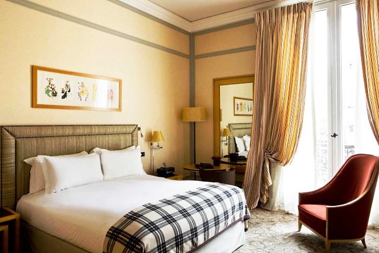 Room at the Sofitel Scribe Paris