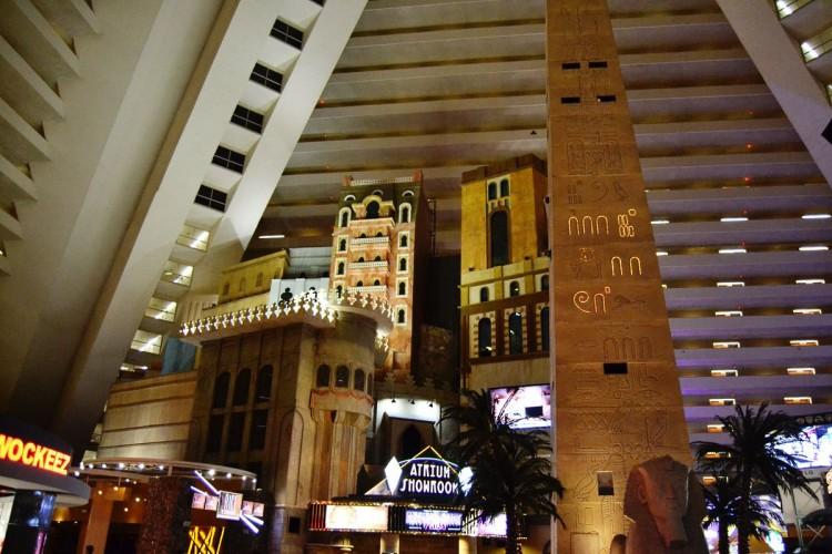 Luxor Las Vegas atrium
