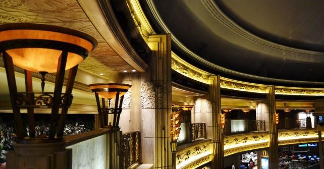 The Hotel atrium