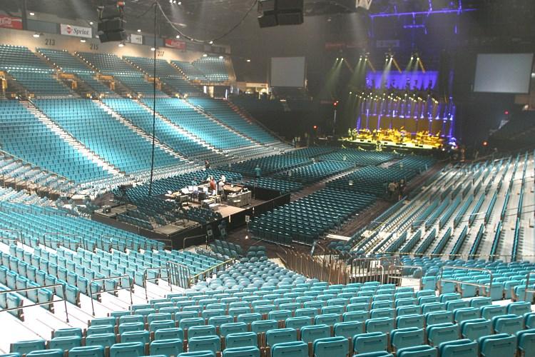 MGM Las Vegas - Garden Arena Venue