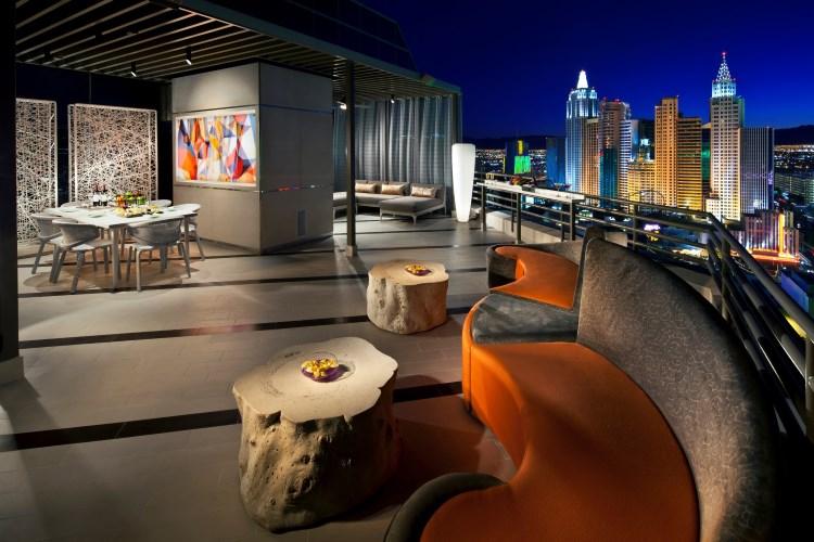 MGM Las Vegas - Suite Skyline Terrasse