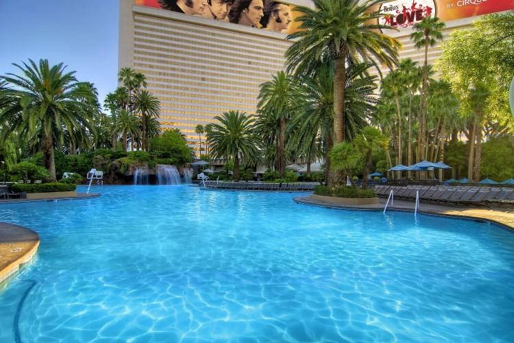 Mirage Las Vegas - La piscine principale
