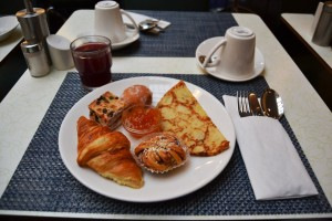 My selection for the breakfast