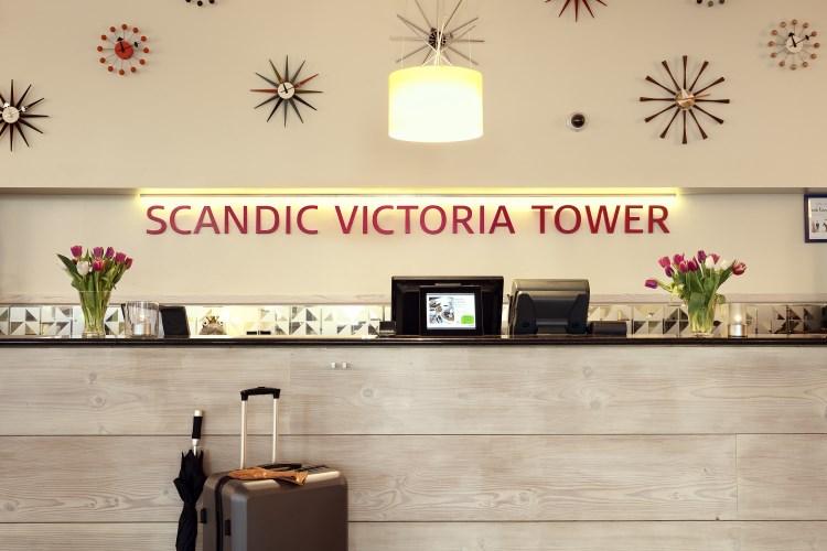 Scandic Victoria Tower - Lobby