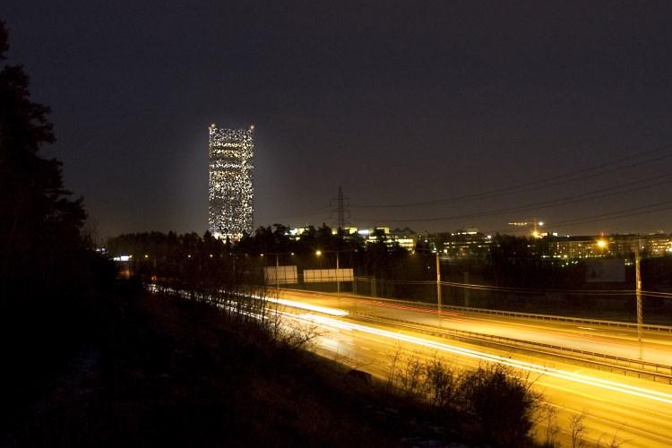 Scandic Victoria Tower - Night view