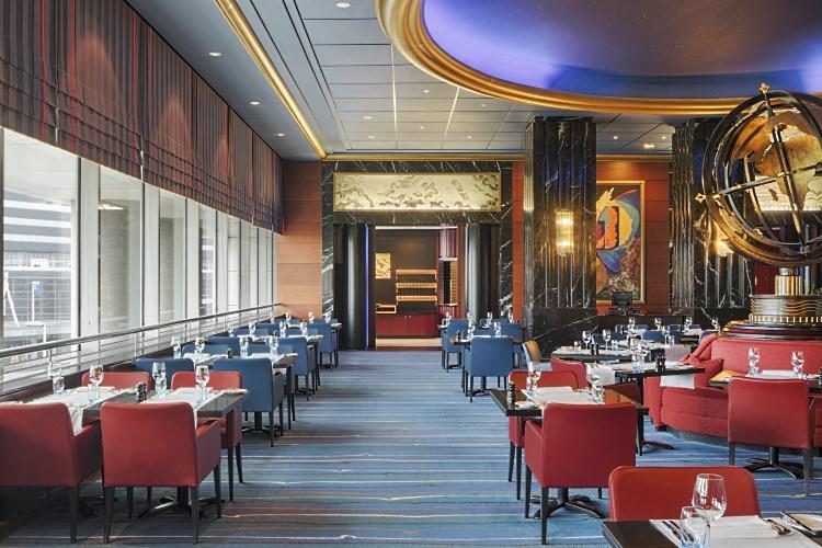 Sheraton Aéroport d'Amsterdam - Restaurant Voyager