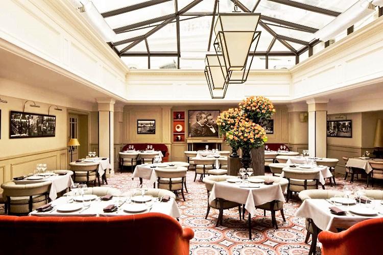 Restaurant of the Sofitel Scribe Paris