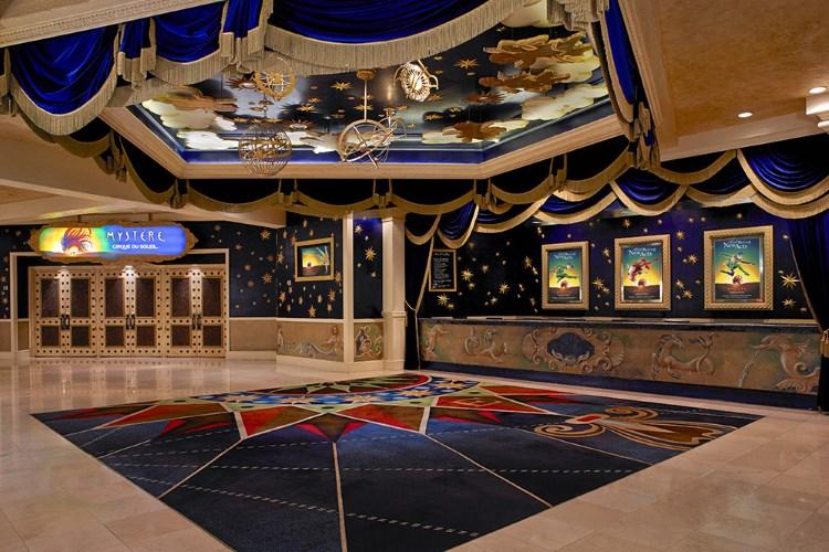 Treasure Island Las Vegas - Mystere lobby