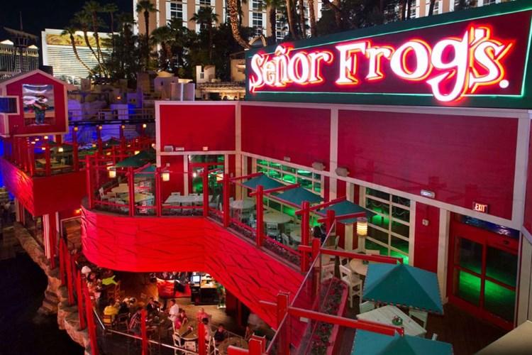 Treasure Island Las Vegas - Senor Frog's