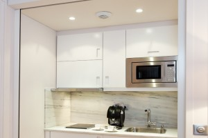 Kitchenette de la Suite Prestige