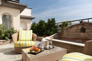 Majestic Suite terrace