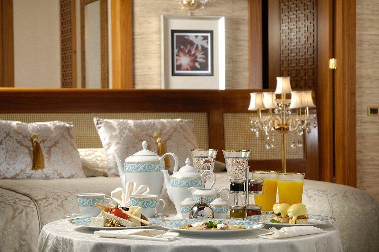 Petit dejeuner de luxe