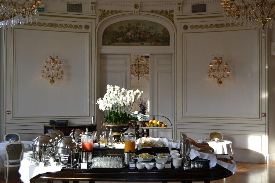 Le buffet du petit déjeuner