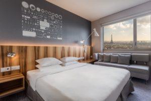 Hyatt Regency Paris Etoile - Chambre Deluxe - Vue Tour Eiffel
