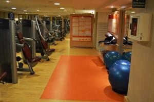 Salle de fitness du Sheraton Stockholm