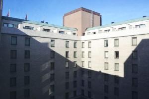 Cour intérieure du Sheraton Stockholm