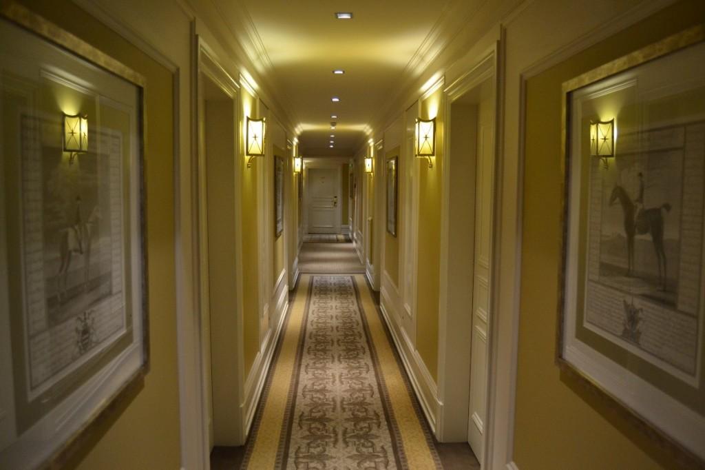 Le couloir du 4e étage