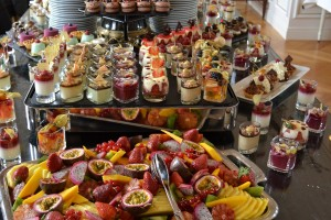 Le buffet sucré du brunch