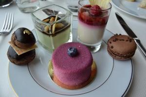 Une sélection de desserts