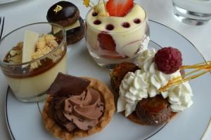 Autre sélection de desserts