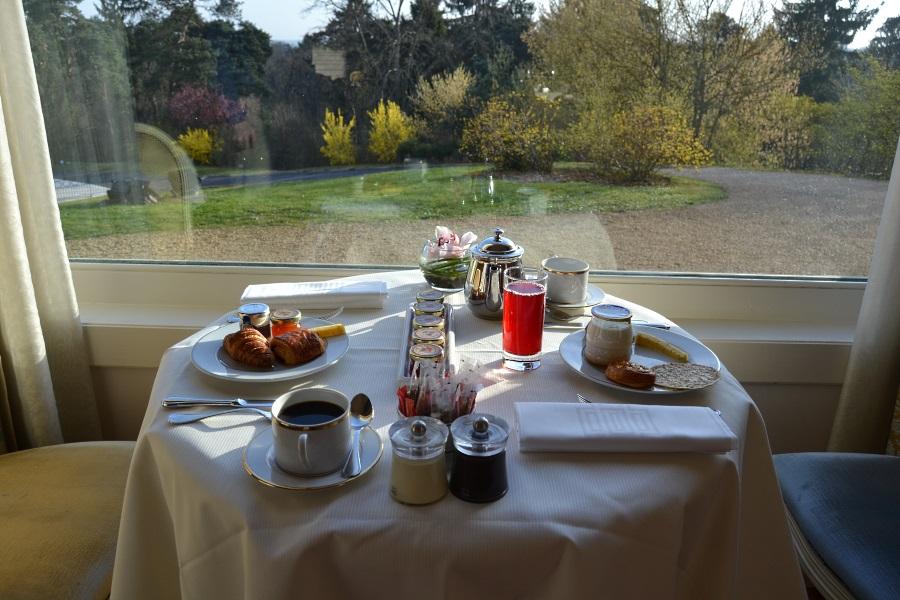 Notre table pour le petit déjeuner