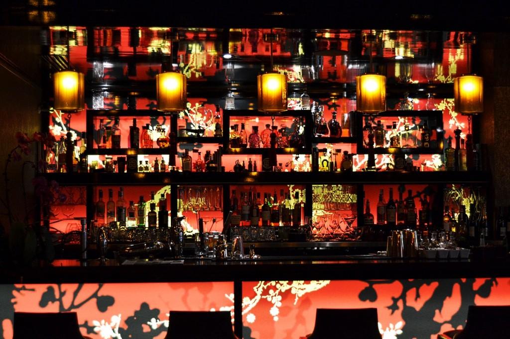 Bar Le Qu4tre du Buddha Bar hôtel Paris