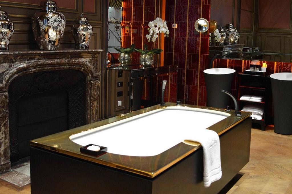 Salle de bains Suite De Gagny Buddha Bar Hotel Paris