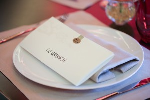 Le menu du brunch