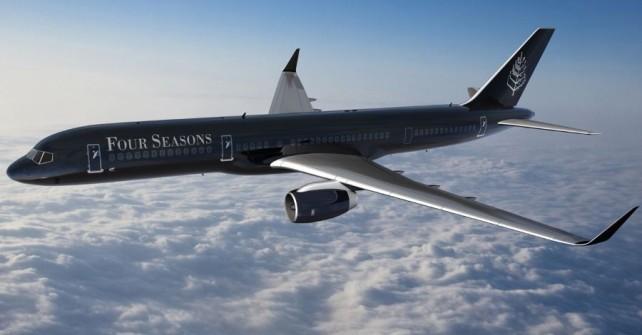 Four Seasons lance son expérience de voyage en jet privé