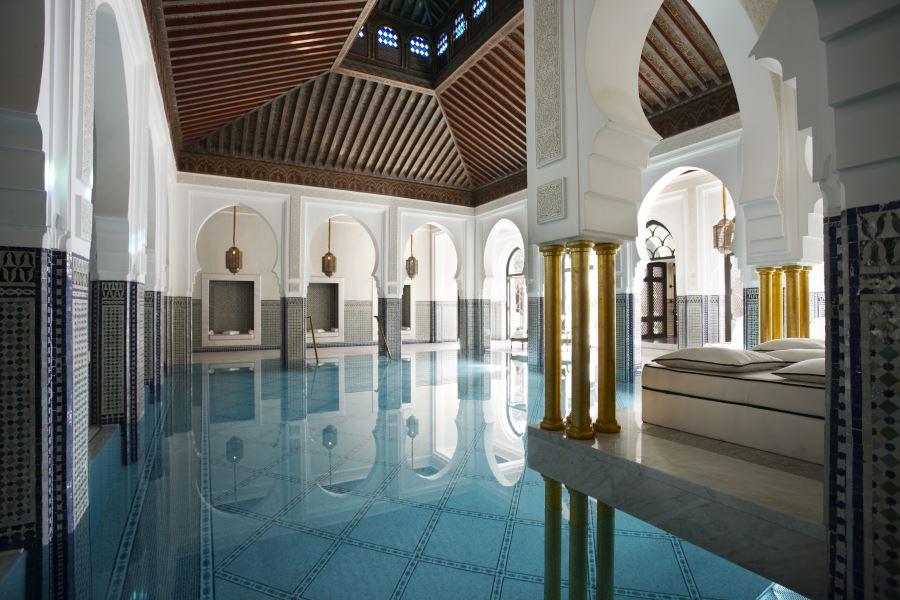 La mamounia marrakech h tel de luxe marrakech maroc for Construction piscine marrakech