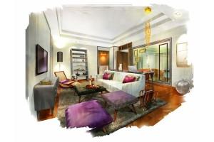 Sofitel Sentosa Singapore Suite Living room