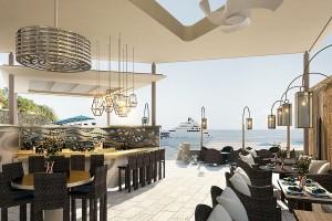 La terrasse vue mer