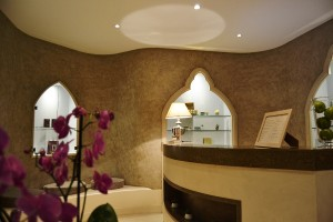The Spa Valmont front desk