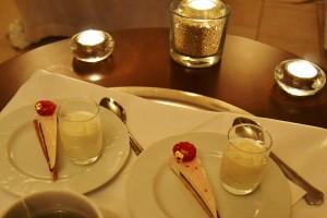 Pâtisserie fine et crème Chantilly