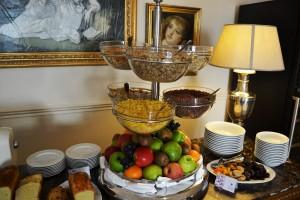Fruits et céréales