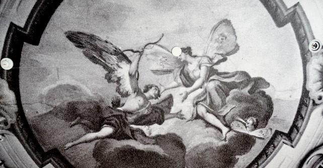 Ceiling frescoes