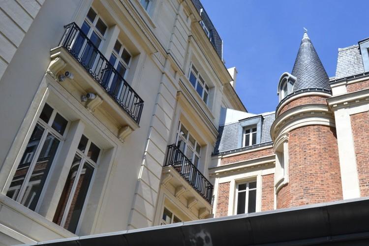Cour d'hôtel Paris