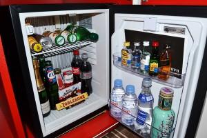 The minibar