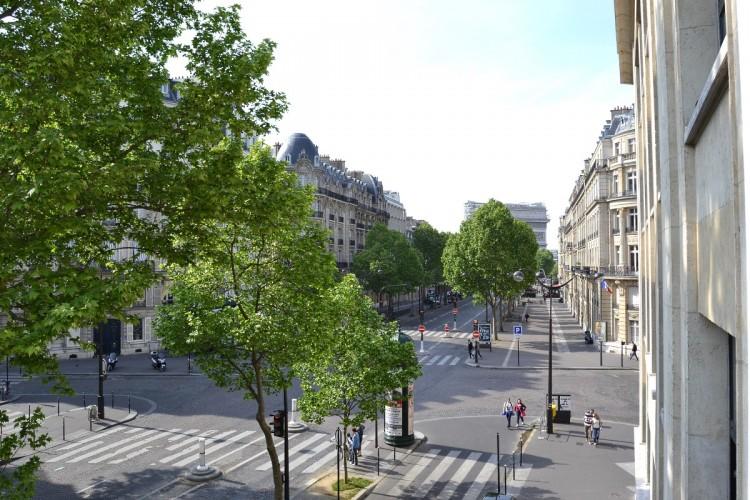 Marceau avenue in Paris