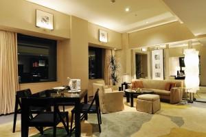 Le salon d'une Park Suite