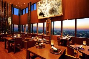 Le restaurant Kozue