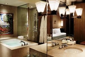 Salle de bain de Chambre Deluxe