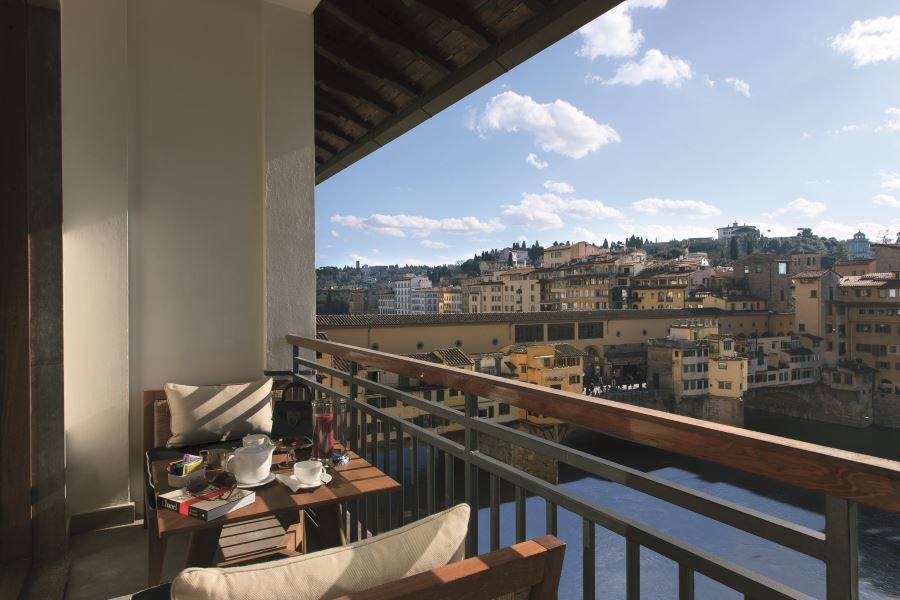 Lungarno Collection just opened Portrait Firenze hotel