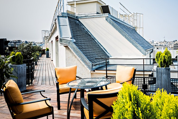 Prince de Galles Paris - Appartement Parisien - Rooftop terrace